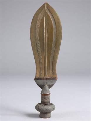 "A Kuba Ceremonial Knife, ""ikul"""