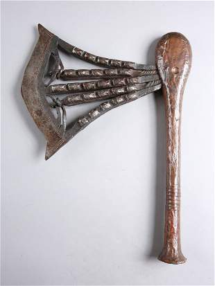 "A Songye Ceremonial Axe, ""kilonda"""