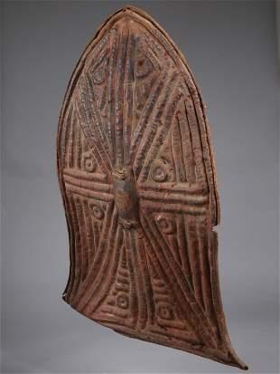 """A Kirdi-Wandala Shield, """"glagwa"""""""