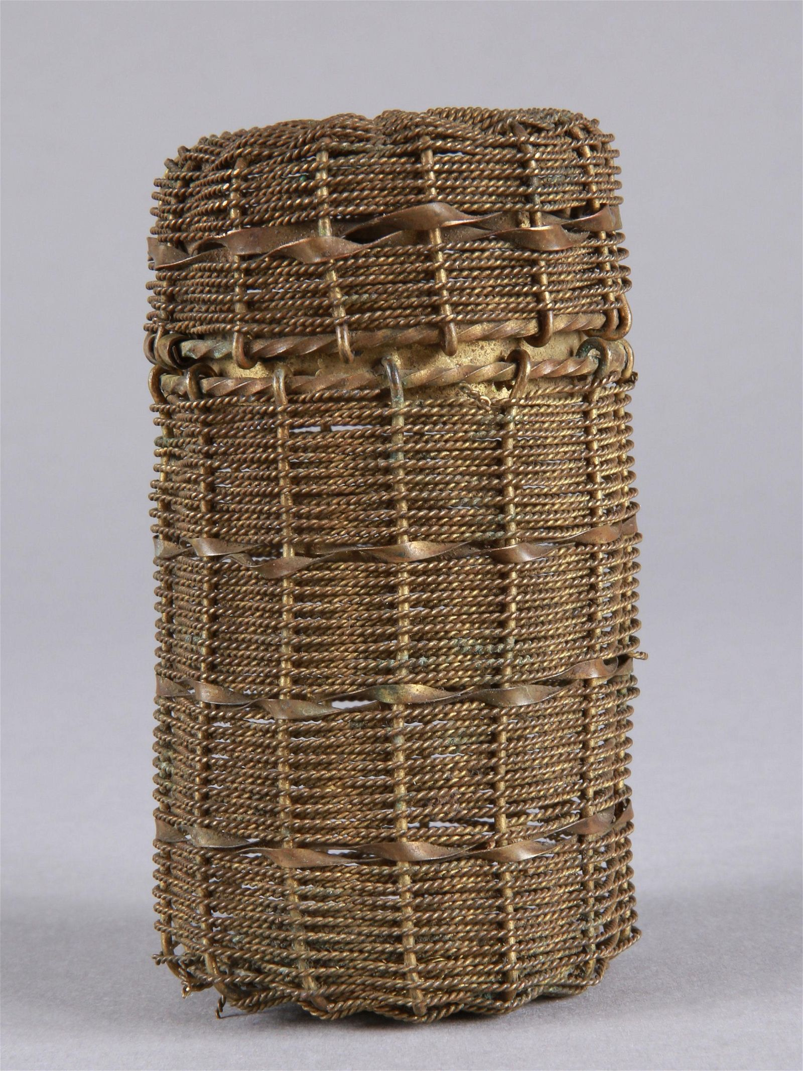 A Small braided Container
