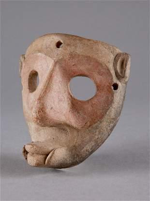 A South American Terracotta Mask