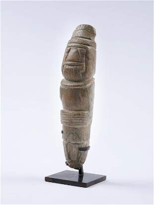 A Tairona Stone Figure
