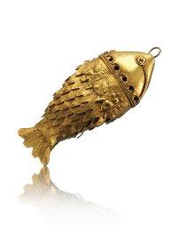 An Akan Jewelry Pendant, Fish