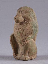 A Figure of a seated Monkey