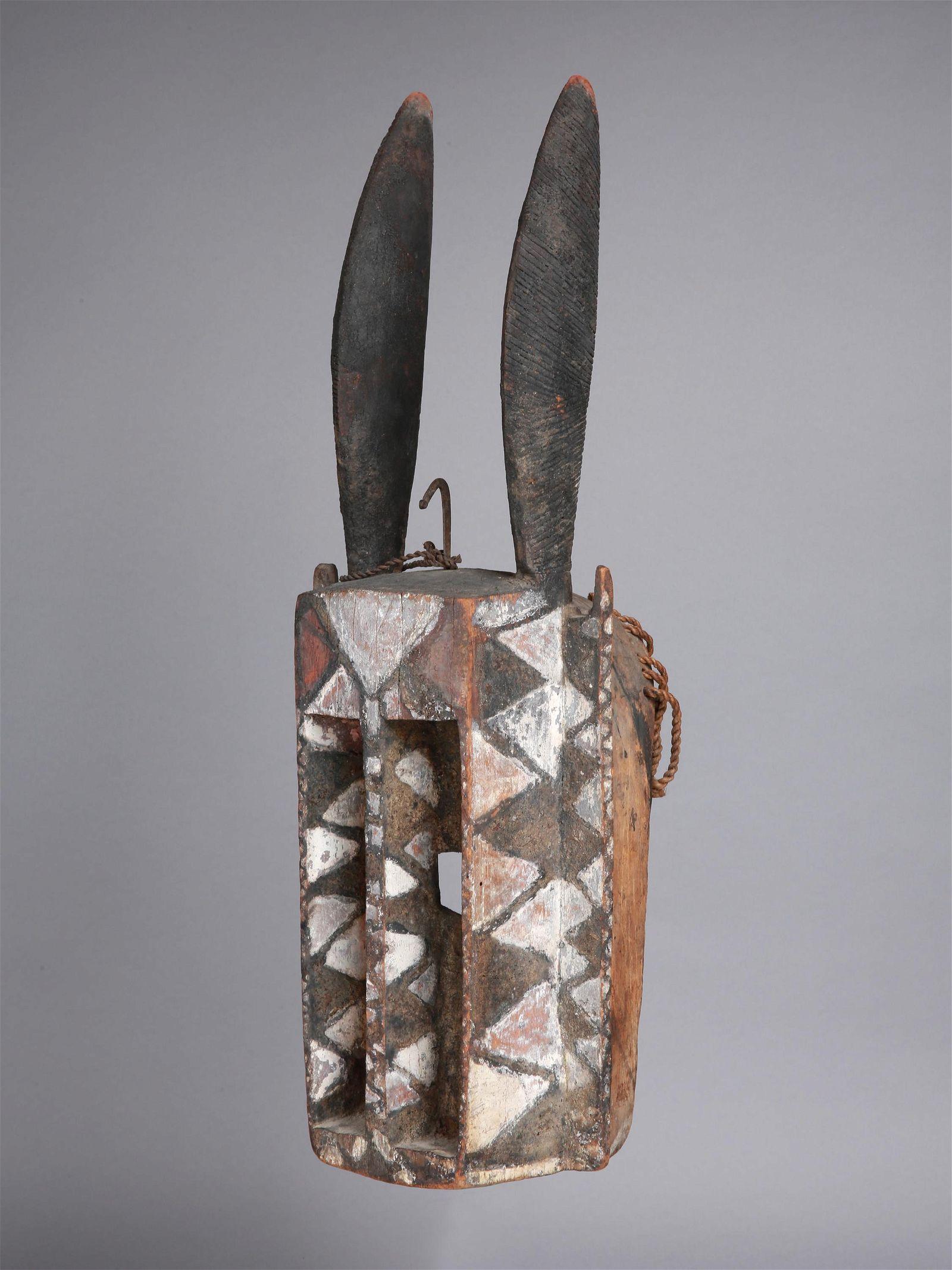 """A Dogon Antelope Mask, """"walu"""""""