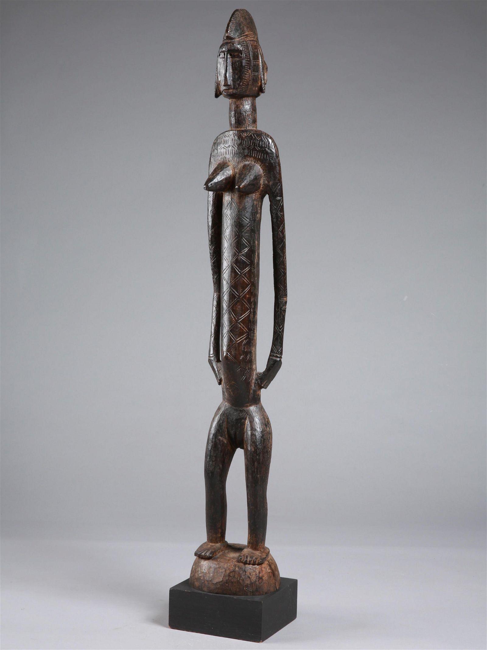"A Bamana Figure, ""jo nyéléni"""
