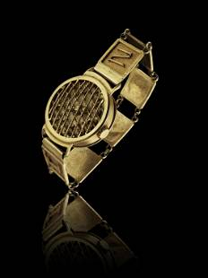 An Asante Reproduction of a Watch
