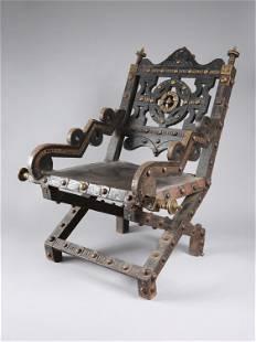 "An Asante Throne, ""akonkromfi"""