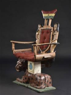 A Fante Royal Throne