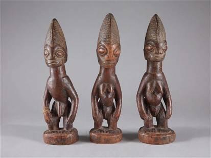 "3 Yoruba Triplets, ""ere ibeji"""