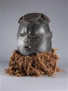 """An Igala Helmet Mask, """"epe"""""""