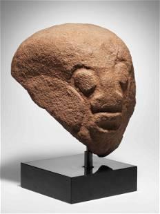 "A Crossriver Stone Head, ""akwanshi"""