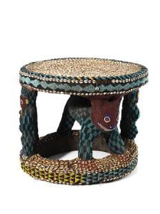 A Bamileke Throne