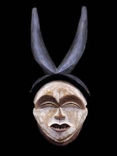 """A Lumbu Face Mask, """"mukuyi-mukuji"""""""