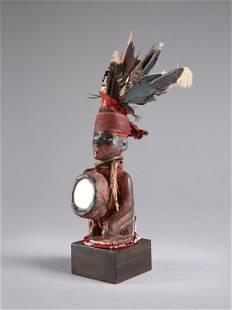 "A Kongo-Vili Miniature Figure, ""nkisi"""