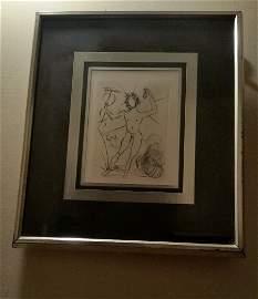 Salvador Dali (1904-1989, Spanish) Mercury 1968
