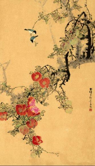 Chinese Artist Tian Pu's Painting