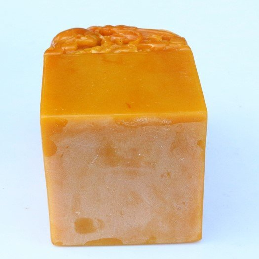Field-yellow Carving Stone Stamp - 4