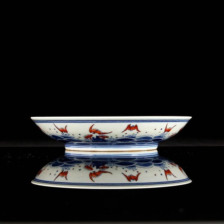 Chinese Qing Dynasty  Blue & White Porcelain Plate I - 3