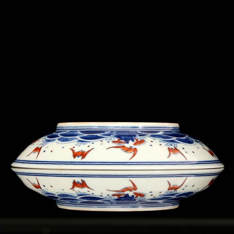 Chinese Qing Dynasty  Blue & White Porcelain Plate I - 4