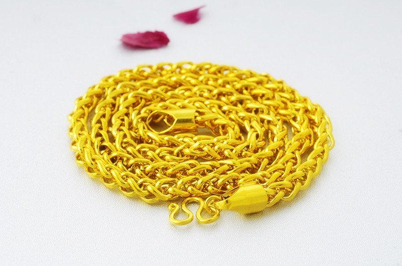 18K Gold Male Necklace - 4