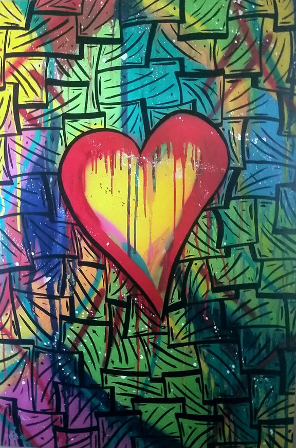 Colorful Love by Chris Sweeney