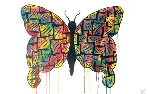 Butterfly by Chris Sweeney