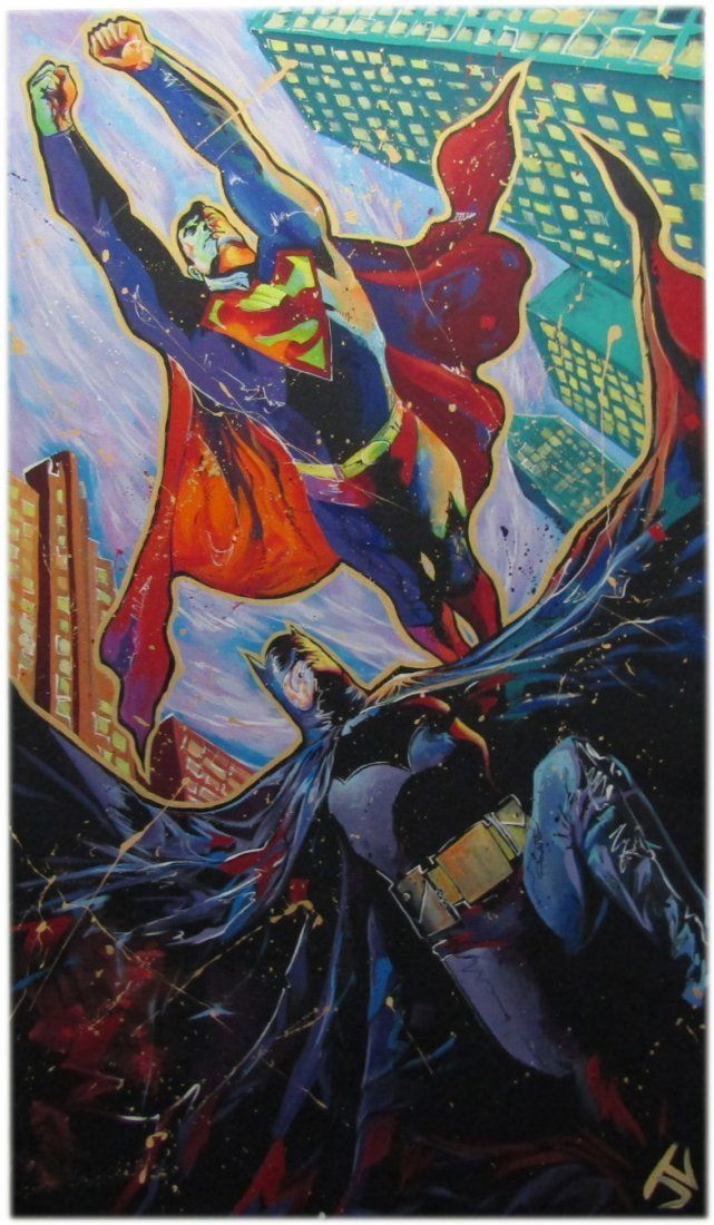 Batman v Superman by Jay Valentine