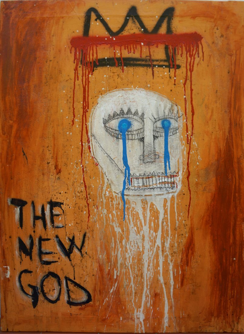 The New God by Carlito Ruiz
