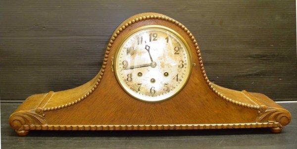 7: OAK MANTLE CLOCK  14092