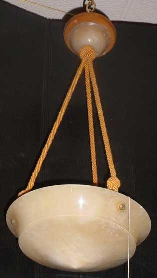 67: SMALL ALABASTER DOME LIGHT 12661D