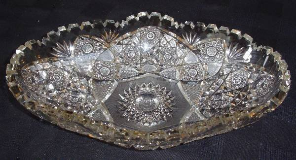 1: BRILLIANT CUT GLASS BOWL 15725