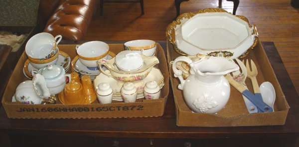 17: 35 PCS OF MISC CHINA 1752