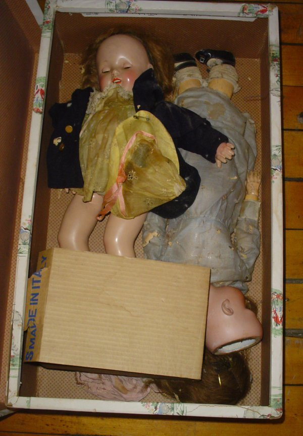 24: 4 ANTIQUE DOLLS EFFANBEE, ARMAND MARSEILLE ++ 1769