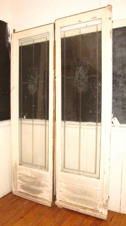 4: 2 ETCHED DOORS 1662