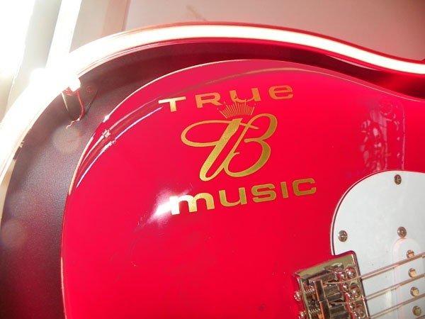 105: NEON BUDWEISER  TRUE B MUSIC ELECTRIC GUITAR 4349 - 5