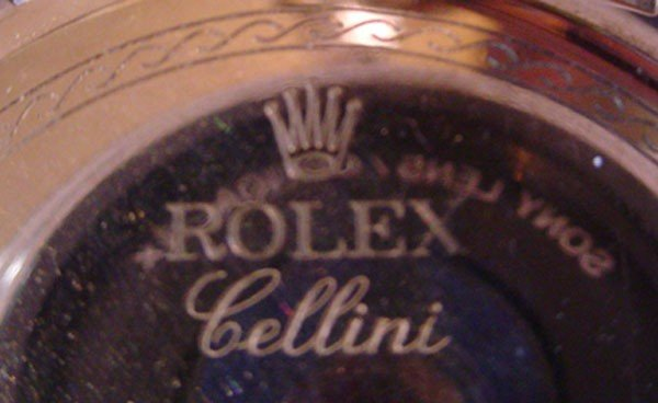 219: ROLEX CELLINI 18K WHITE & ROSE GOLD GENEVA WATCH ( - 5