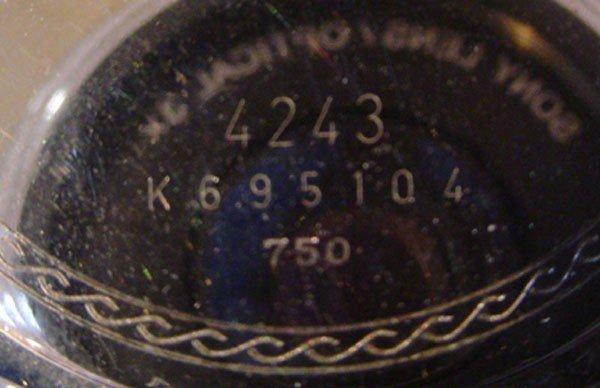 219: ROLEX CELLINI 18K WHITE & ROSE GOLD GENEVA WATCH ( - 6