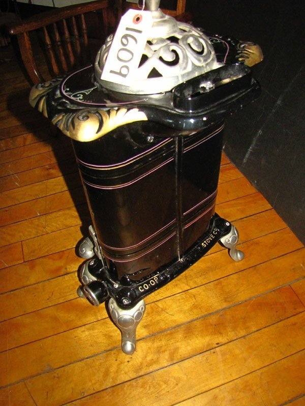 242: SMALL ROYAL GAS POT BELLY STOVE (991609) - 3
