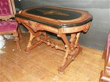 359 AMERICAN RENAISSANCE TABLE INLAID TOP 4423