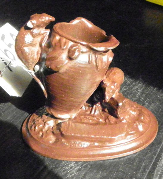 4: VICTORIAN TOOTHPICK HOLDER WITH 2 RATS  1650