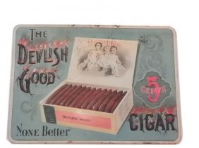 "ORIGINAL ADVERTISEMENT ""THE DELVILISH GOOD"" 4714"