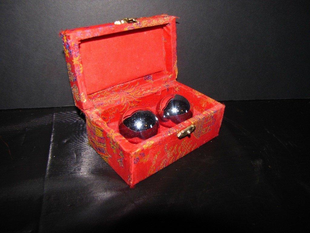 47: DRAGON EYES BOXED SILVER BIN WAH BALLS  89T - 2