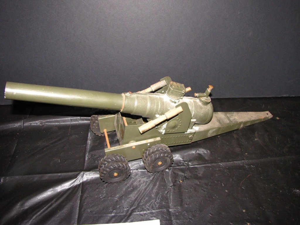 57B: BIG BANG CANNON GREEN  IRON DOUBLE AXEL 155MM 114T - 2