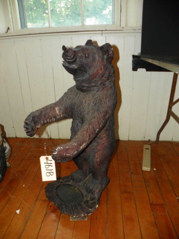 COMPOSITE BLACK FOREST BEAR UMBRELLA HOLDER (4618)