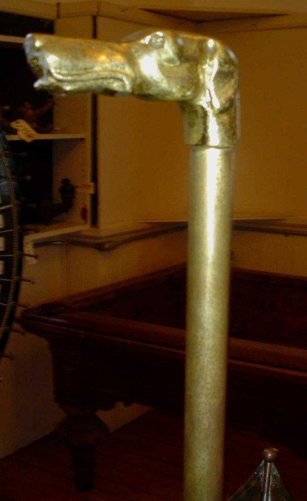 4: COPPER UMBRELLA SHAPED UMBRELLA STAND 13221 - 2