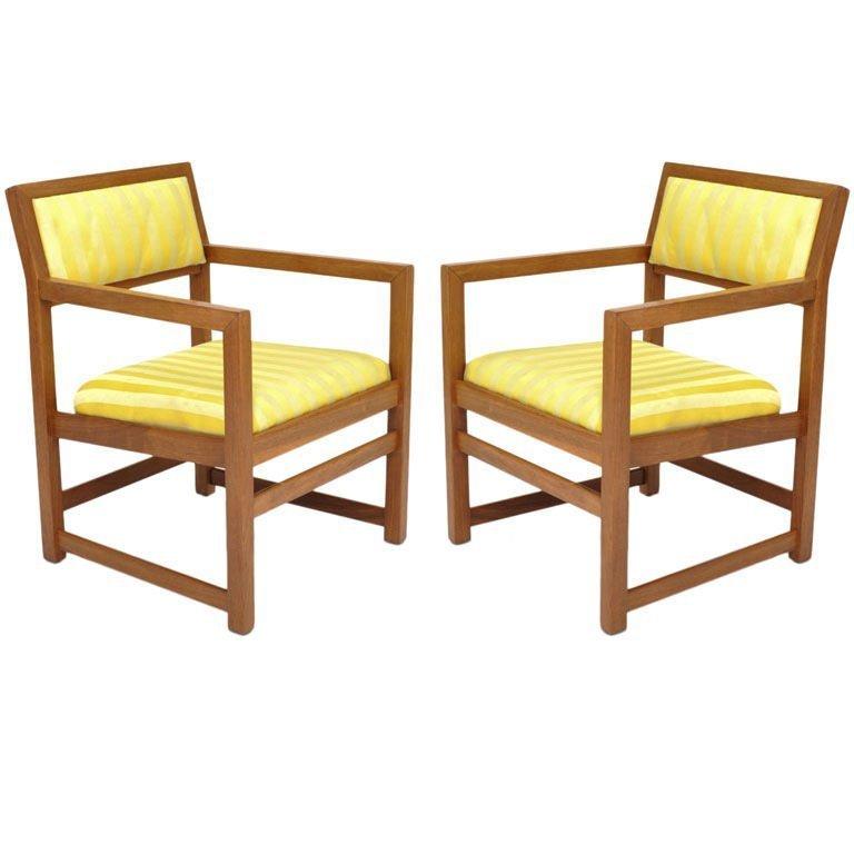 Edward Wormley Arm Chair for Dunbar