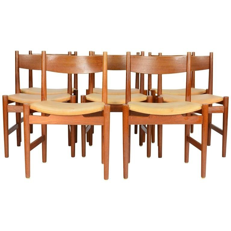 Hans Wegner CH 36 Dining Chairs for Carl Hansen