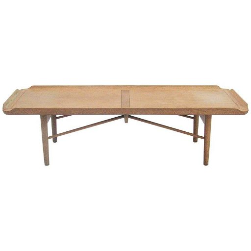 Tremendous Rare Finn Juhl Coffee Table Or Bench For Baker Furnitur Pabps2019 Chair Design Images Pabps2019Com