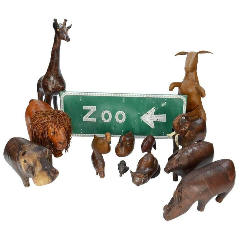 14-Piece Zoo by Dimitri Omersa for Abercrombie & Fitch